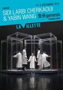 Genesis-de-Sidi-Larbi-Cherkaoui-Tezuka-La-grande-Halle-La-Villette-Yabin-Wang-danse-live-affiche