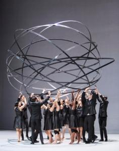 """GöteborgsOperans Stora Scenen, en del dansprogramet """"SPIRIT"""" med världspremiär den 8 mars 2014."""